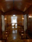 Interno Cappella Sacra Famiglia